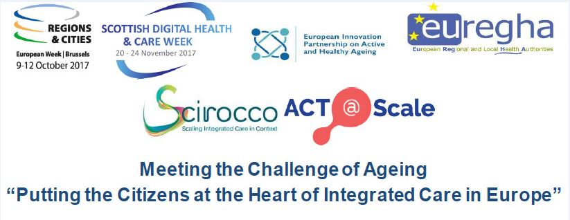 Workshop, Glasgow, 21 November: ''Putting the Citizens at the Heart of Integrated Care in Europe''