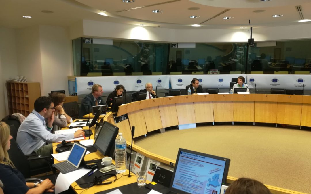 "CoR Interregional Group on Health and Wellbeing Meeting ""Precision Medicine, HTA and Future European Scenarios"""