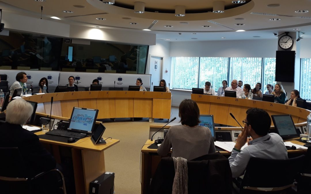 CoR Interregional Group on Health and Well-being Meeting on big data in health