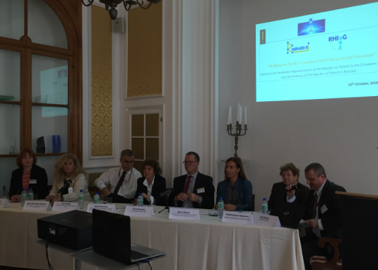 Celebration of The RegHealth-RI Final Conference organised by EUREGHA on 20 October