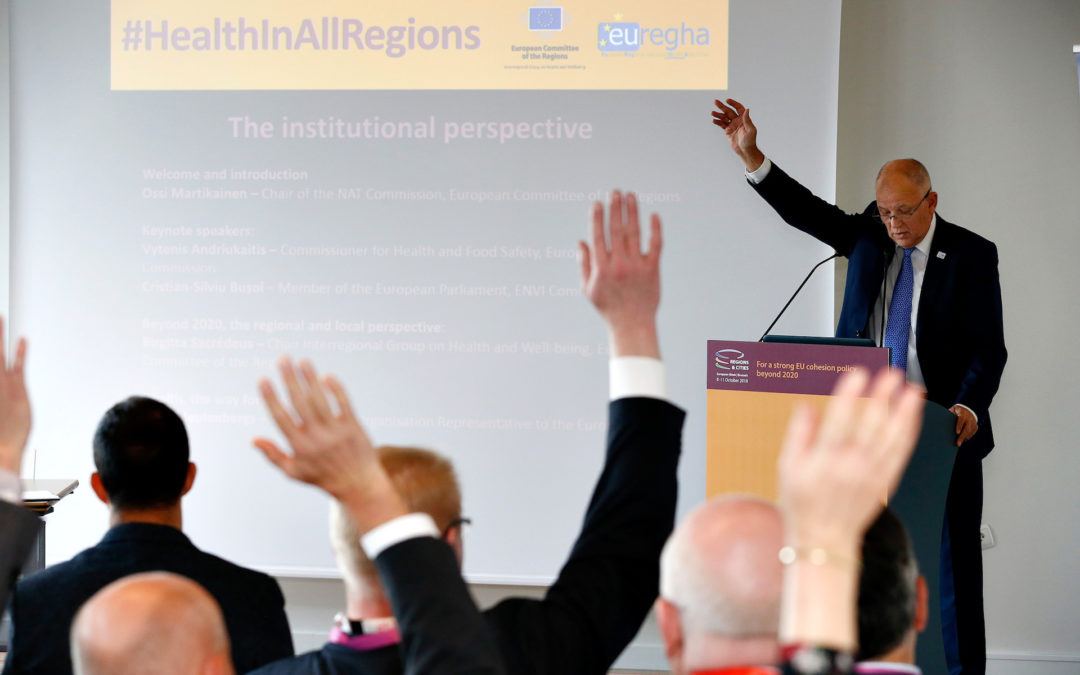 Global Challenges, Territorial Answers: the Future of Health in Europe