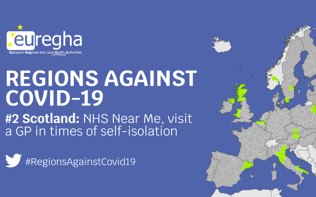 Regions Against Covid-19 #2- NHS Near Me, the Scottish tool to visit a GP in times of self-isolation