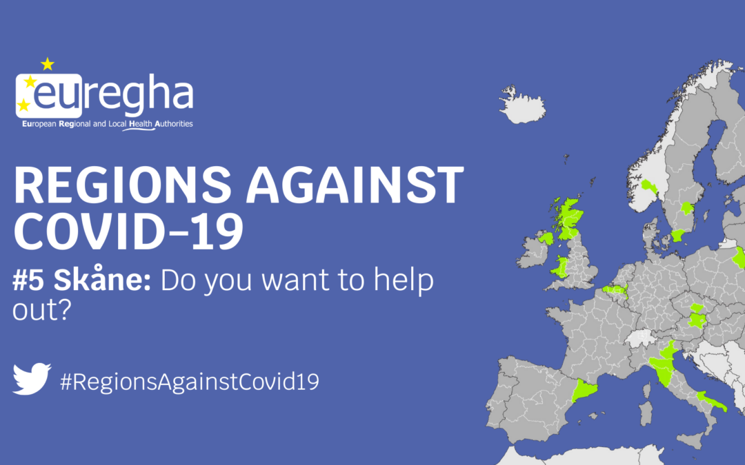 Regions Against Covid-19 #5 – Skåne: Do you want to help out?