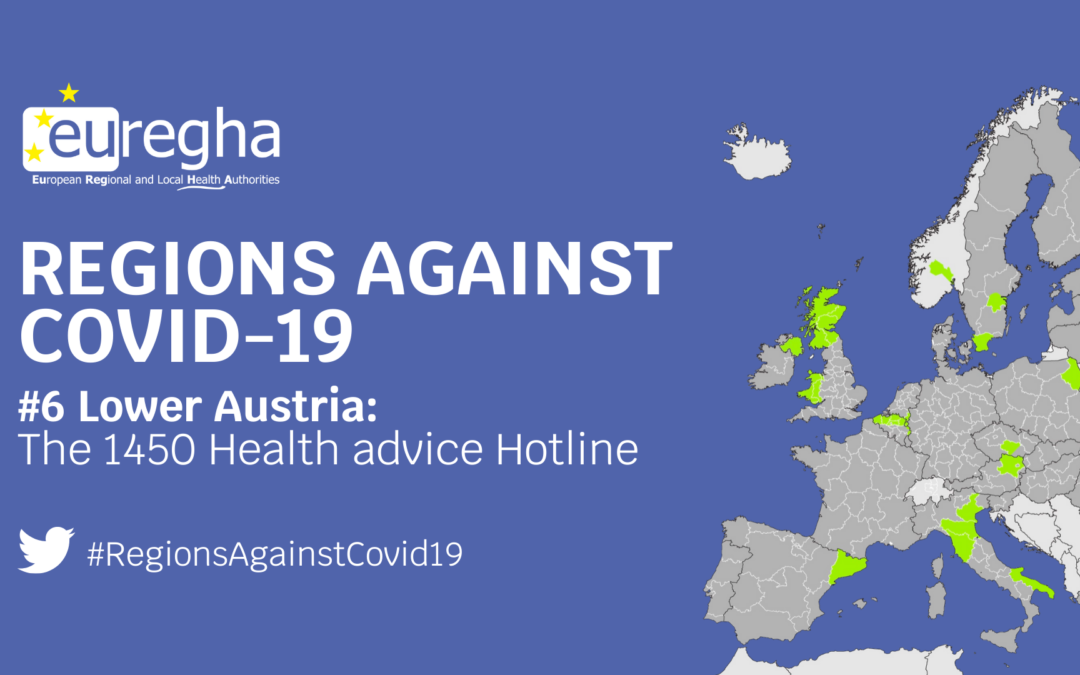 Regions Against Covid-19 #6 – The 1450 health advice hotline in Lower Austria